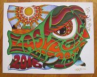 SF 2016 phish san francisco BGCA happy fish pin by kerrigan edition of 100