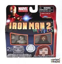 Marvel Minimates TRU Iron Man 2 Movie James Rhodes Mark II Armor & Black Widow