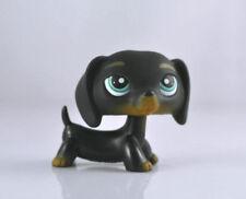Pet Dachshund Dog Child Girl Figure Littlest Toy Loose LPS850