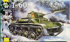 Tanque ligero t-60, 1:72, MW, plástico kit modelo, * nuevo *