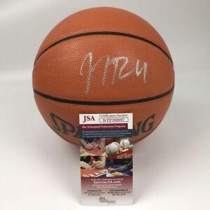 Autographed/Signed JJ J.J. REDICK 76ers FS Full Size Spalding Basketball JSA COA