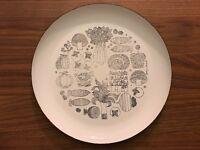 Georges Briard Enamel Plate Vintage MCM