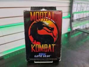 Mortal Kombat - Sega Game Gear - FAST DELIVERY