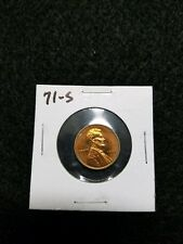 ,,,, US PROOF LINCOLN CENT,,,,,1971-S,,,,,FROM US PROOF SET