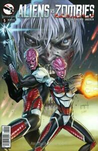 Aliens Vs. Zombies #5A VF/NM; Zenescope | save on shipping - details inside