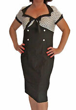 Knee Length Wiggle, Pencil Spotty Dresses for Women