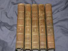 Peveril du pic par sir Walter Scott 1823 (5vol/5) rare E.O en français