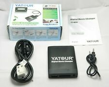 Yatour USB MP3 AUX SD CD Adaptador para VW Passat, Audi, Skoda y Seat 12 pines