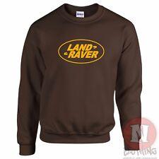 País Raver Sudadera Clásico Divertido Festival Clubbing DJ Land Rover parodia