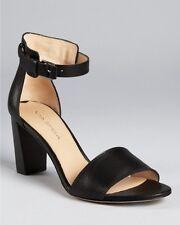 Via Spiga 8.5 M Black Christina Fashion Dress Ankle Strap High Heel Shoes