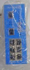 ACROMAG EIS-358  Ethernet Switch  ver 1.8  8 Port  24VDC Din Rail Mount 10 Base
