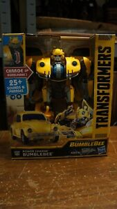 """New Transformers Power Charge Autobot Bumblebee 10"""" Talking Movie Beetle 2018"""