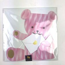 Teddy Bear Greeting Card  Papyrus Niquea D Blank 3D Sealed
