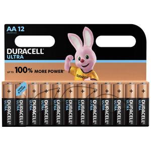 kQ Duracell AA Ultra Power Batterien Alkaline Mignon MX1500 LR06 12er Blister