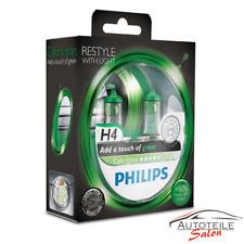 Philips H4 ColorVision Green Grün +60% Set 2x H4 12V 60/55W 12342CVPGS2