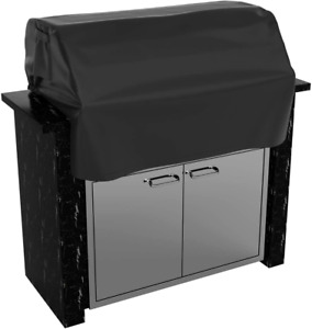 32 Inch Built-In Grill Cover, Heavy Duty Waterproof Bbq Island Grill Top