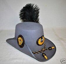 Confederate Officers Hardee Hat - CSA Gray - (S, M, L, XL, XXL) - Civil War