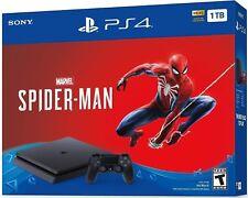 NEW Sony PlayStation 4 PS4 Slim 1TB Marvel's Spider-Man Spiderman Console Bundle