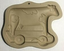 Used Brown Bag TOY COW Cookie & Craft Mold Art 1994 Hill Design Inc.