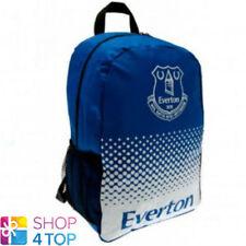 a71c7f66 EVERTON FC BACKPACK SCHOOL TRAVEL BAG BLUE FOOTBALL SOCCER CLUB TEAM NEW
