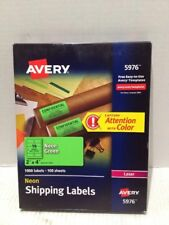 Avery High-Visibility Shipping Labels - 5976