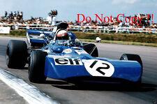 Jackie Stewart Tyrell 003 Winner British Grand Prix 1971 Photograph 1