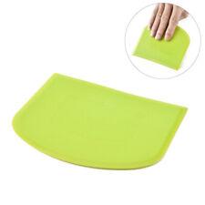 Dough Bowl Scraper Flat Edge Flexible Dough Cake Scraper Kitchen Baking Gadget