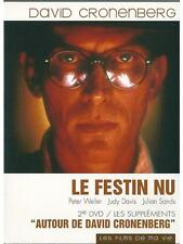 DVD DOUBLE LE FESTIN NU DAVID CRONENBERG