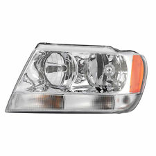 99-04 JEEP GRAND CHEROKEE LIMITED OVERLAND LEFT HALOGEN HEADLIGHT LAMP ASSEMBLY