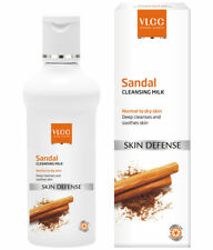 VLCC SANDAL CLEANSING MILK NORMAL TO DRY SKIN SKIN DEFENSE 100 ML