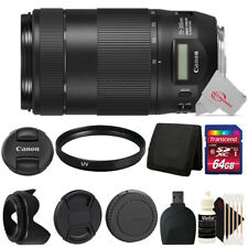 Canon EF 70-300mm f/4-5.6 IS II USM Lens with Top Accessory Kit
