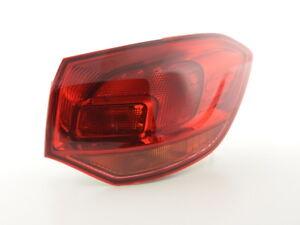 Faro fanale destro luce destra posteriore ricambio Opel Astra J anno 10-12 rosso