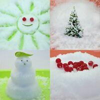 1KG Fake Instant Magic Fluffy Snow Xmas Christmas Wedding Decoration Add Water