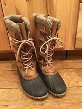 Women's Duck Boots Size 9 1/2M