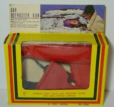 NOS NIP New Old Vintage 1960s 1970s CAR DEFROSTER GUN IN ORIGINAL BOX PACKAGE