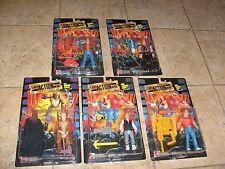 Last Action Hero 5 Figure Lot Mattel -1993 Danny Jack Slater Arnold NEW  MOSC
