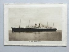 More details for rms adriatic 1907 abstract of log postcard (commander e.j. smith of the titanic)