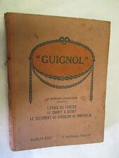 Album Guignol numéro 23 du num 174 au num 183 (Cuvillier,Le Rallic,Radiguet