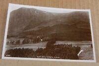 Postcard Scotland glen Doll Forests Clova  Angus Real photo   unposted v2