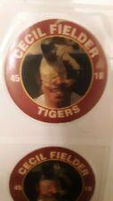 (13) 1992 Cecil Fielder 7-11 SLURPEE Superstar Action coins Detroit Tigers