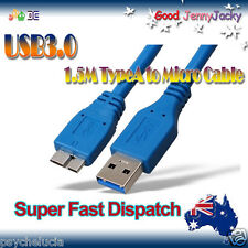 1.5M USB 3.0 A Male to B Micro Male Extension Cable Cord - Samsung Galaxy Note 3