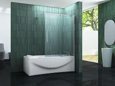 Schiebetür Badewannenaufsatz BATCH 120x150 Duschabtrennung Dusche Duschtrennwand