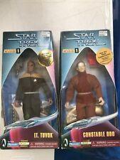 Star Trek Warp Series 1 Lt Tuvok & Constable Odo ~ NEW! ~ MS62