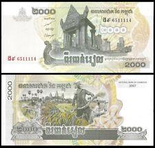 Cambodia 2000 RIELS 2007 P 59 UNC
