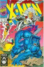 X-Men (2nd series) # 1 (Storm and Beast cover, Jim Lee) (Estados Unidos, 1991)
