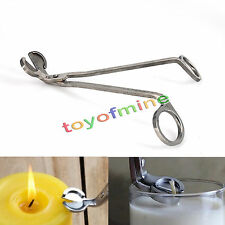 Candle Wick Oil Lamp Stainless Steel Scissors Trim Trimmer Cutter Snuffers Tool