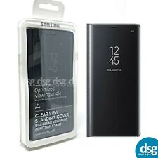 Official Genuine Samsung Galaxy Note 8 Clear View Cover Case - Black
