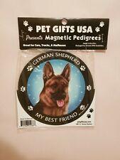 Pet Gifts USA Magnetic Pedigrees Dog Magnet - German Shepherd My Best Friend