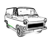 Reparaturblech - Laderaumeinstieg rechts für Ford Transit MK I und MK II