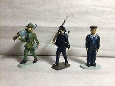 CBG Hachette, soldat de plomb 14-18 : canadien/français/anglais Made in France